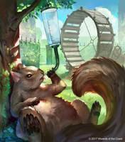 MtG - Unstable - Squirrel by JohnoftheNorth