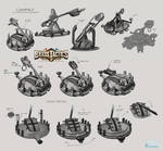 Brass Tactics - Catapult Design