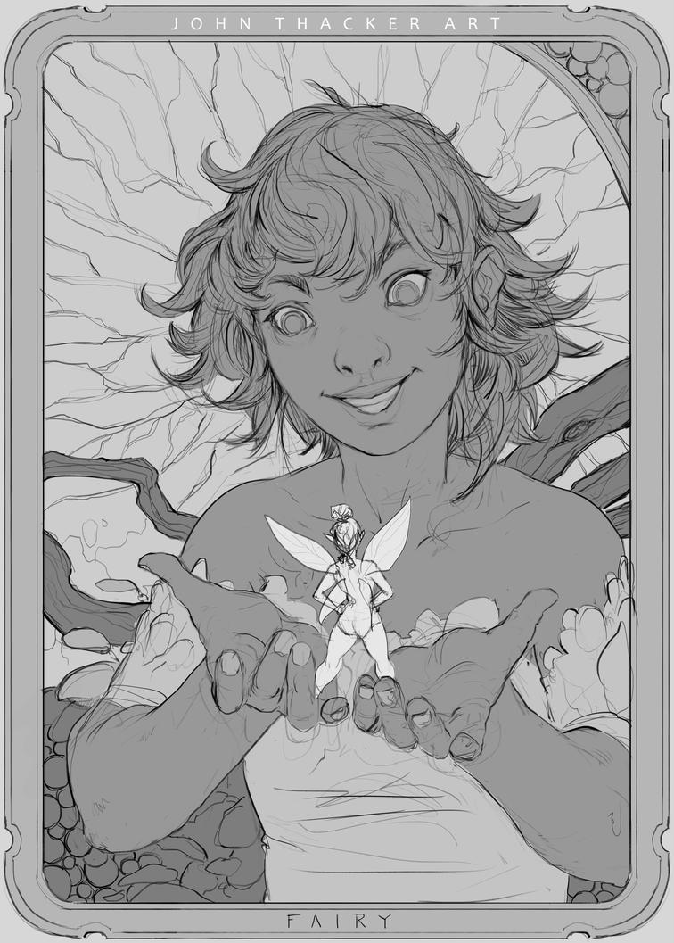 Token - Fairy by JohnoftheNorth