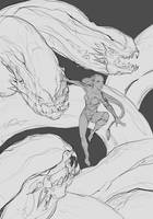 Serpents by JohnoftheNorth