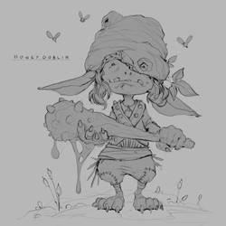 Honey Goblin by JohnoftheNorth