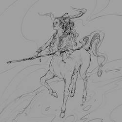 Centaur by JohnoftheNorth