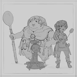 Let's Cook! by JohnoftheNorth