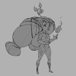 Mini Mage (Fire)