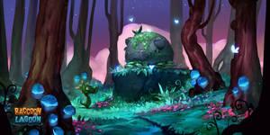 Raccoon Lagoon - Forest Key Art