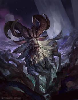 Theros: Beyond Death - Goat (Token)
