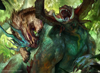 Magic the Gathering: Zendikar Rising - Rabid Bite