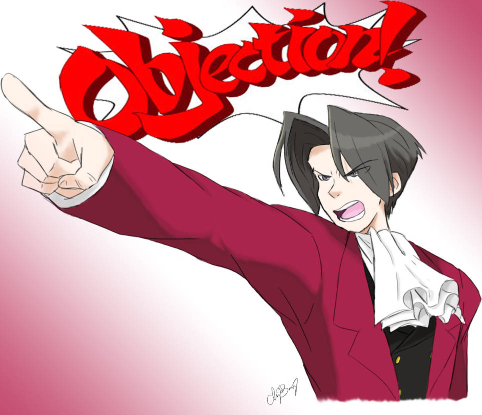 Edgeworth Objection By Enviousofme On Deviantart