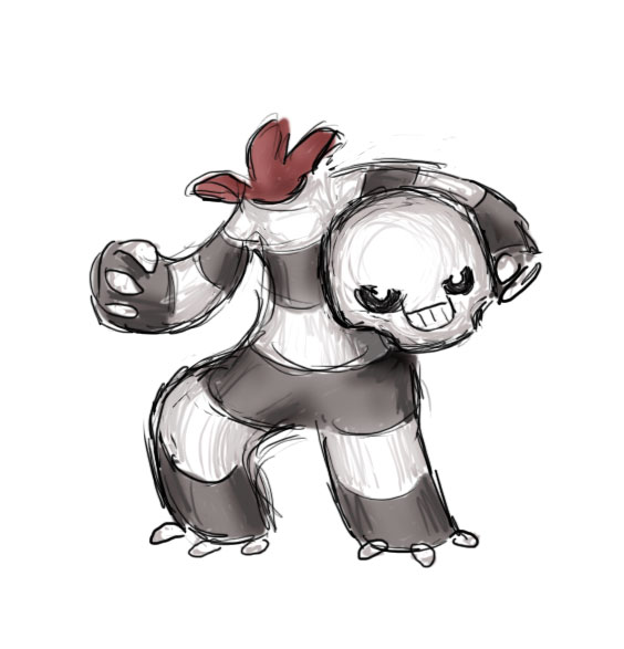 Fakemon Ghost 2 of 2 by thefirebreather