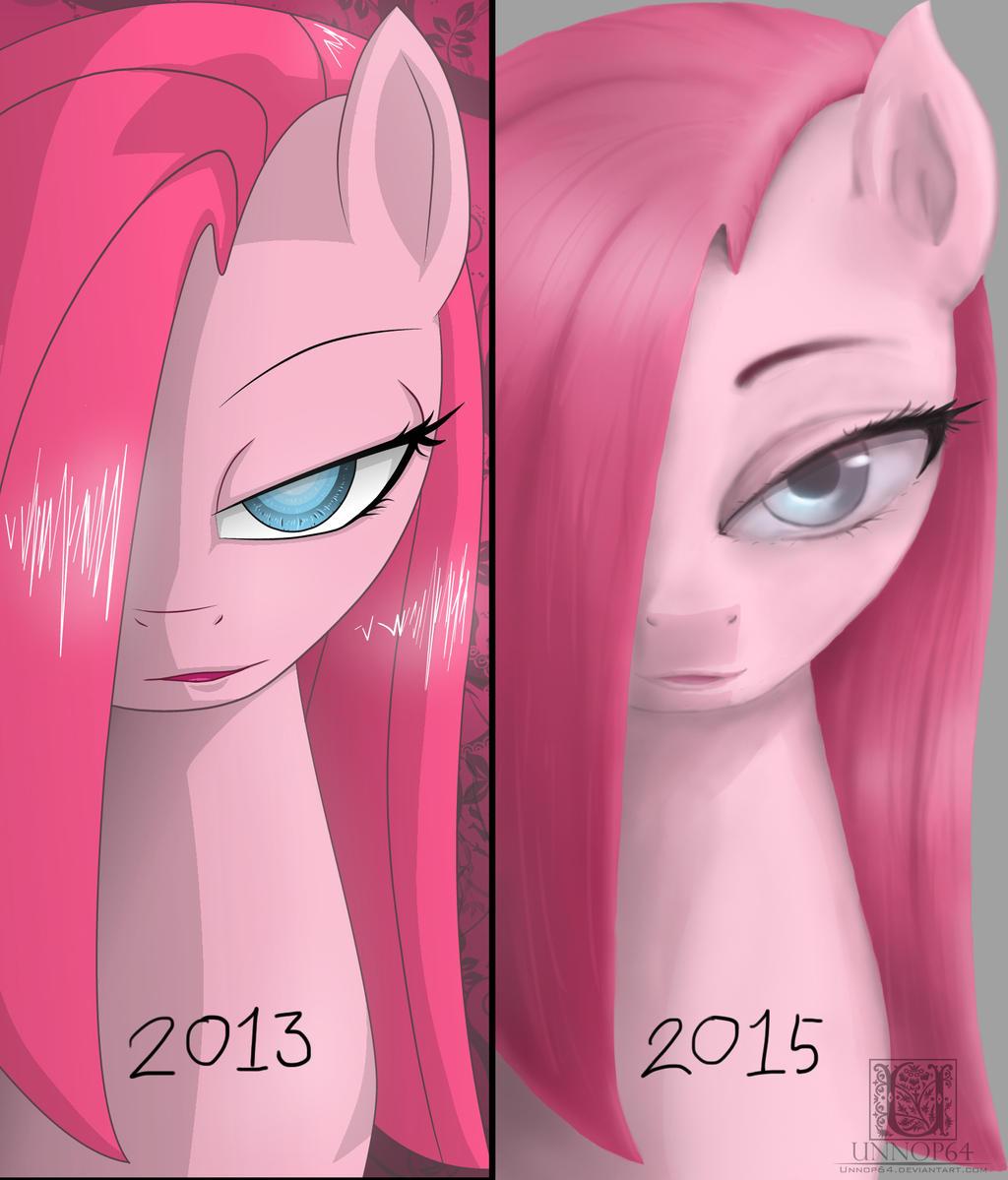 OLD vs NEW Pinkamena