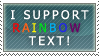 Rainbow Text by Tobi--Weasel