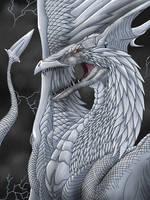 White Fury - ipad art by gingaparachi