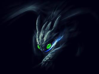 Night fury by gingaparachi