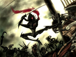 Pirats V Ninja by gingaparachi