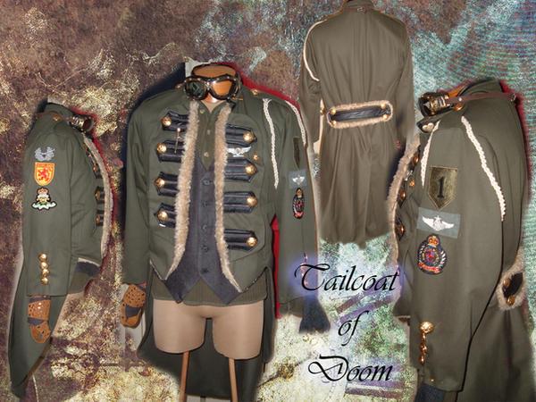 Steampunk Tailcoat of Doom by Angel-or-Phantom