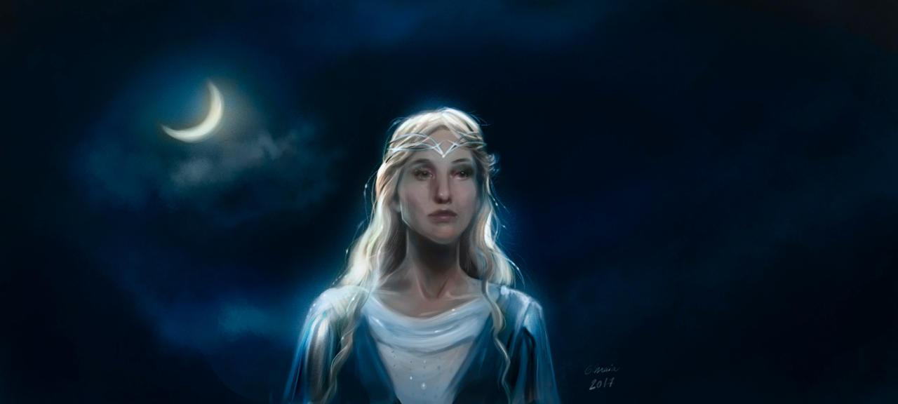 Galadriel (The Hobbit frame) by carolina-lisboa