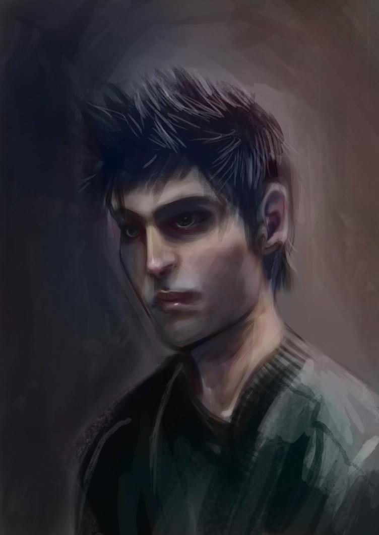 Male face study by carolina-lisboa