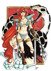 Red Sonja copics