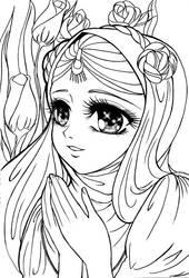Hijab princess 02 by elyunni