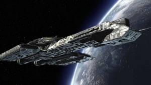 Stargate Daedalus Class Starship