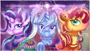 We Are Idols! (+speedpaint) by Ilynalta