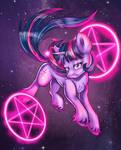 Twilight Sparkle (available as a T-shirt)