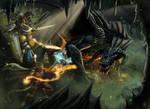 Black Dragon Raid - Commission Work