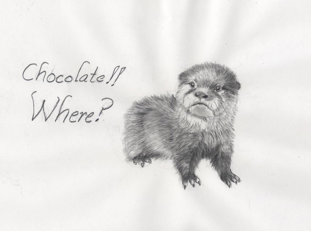 Chocolate!! Where? by Kitt-Otter