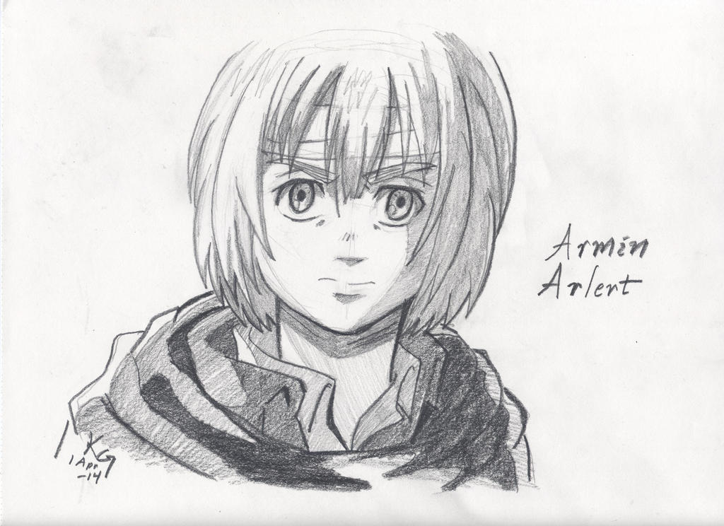 Attack on Titan: Armin by Kitt-Otter