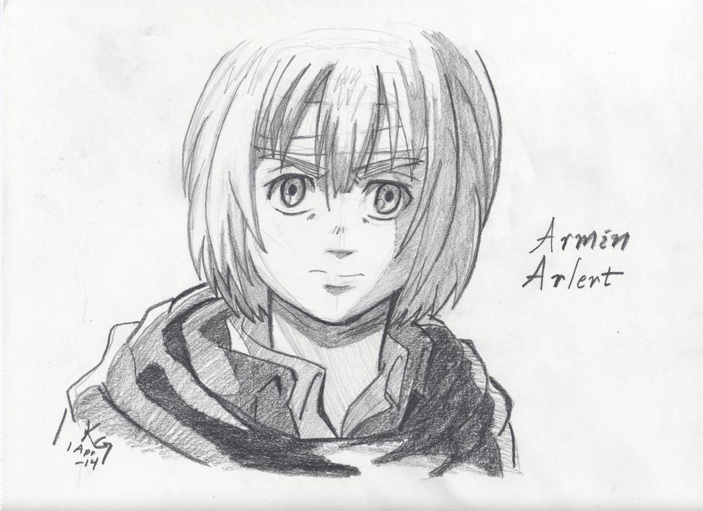 Attack on Titan: Armin by Kitt-Otter