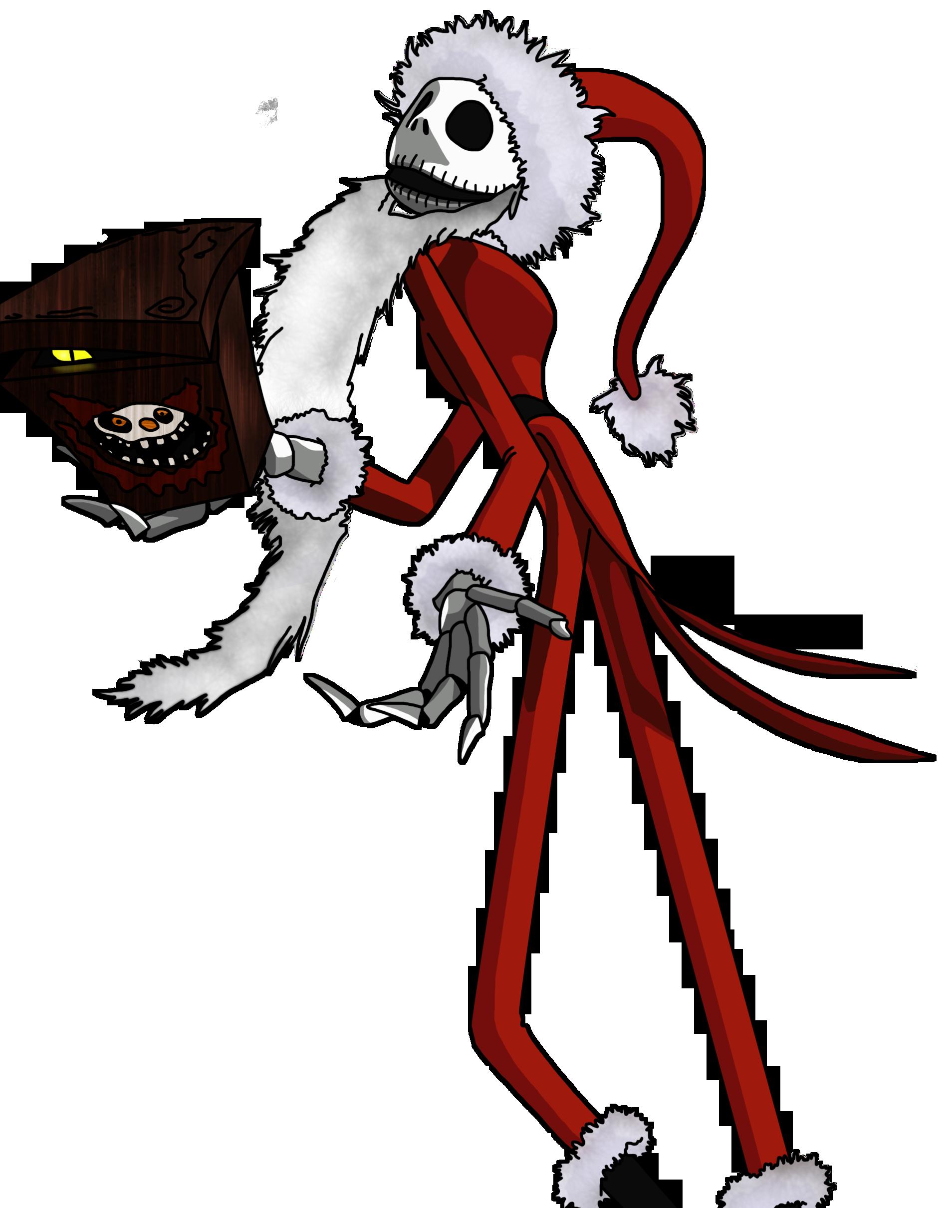 Jack Skellington- Santa's Clothes by xXSteefyLoveXx on ...
