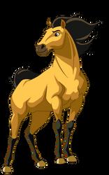 Spirit The Stallion- Full Body by xXSteefyLoveXx