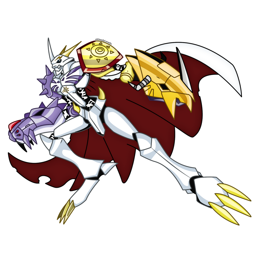 Omegamon (Full Body) by xXSteefyLoveXx