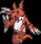 Guilmon- Digimon Tamers