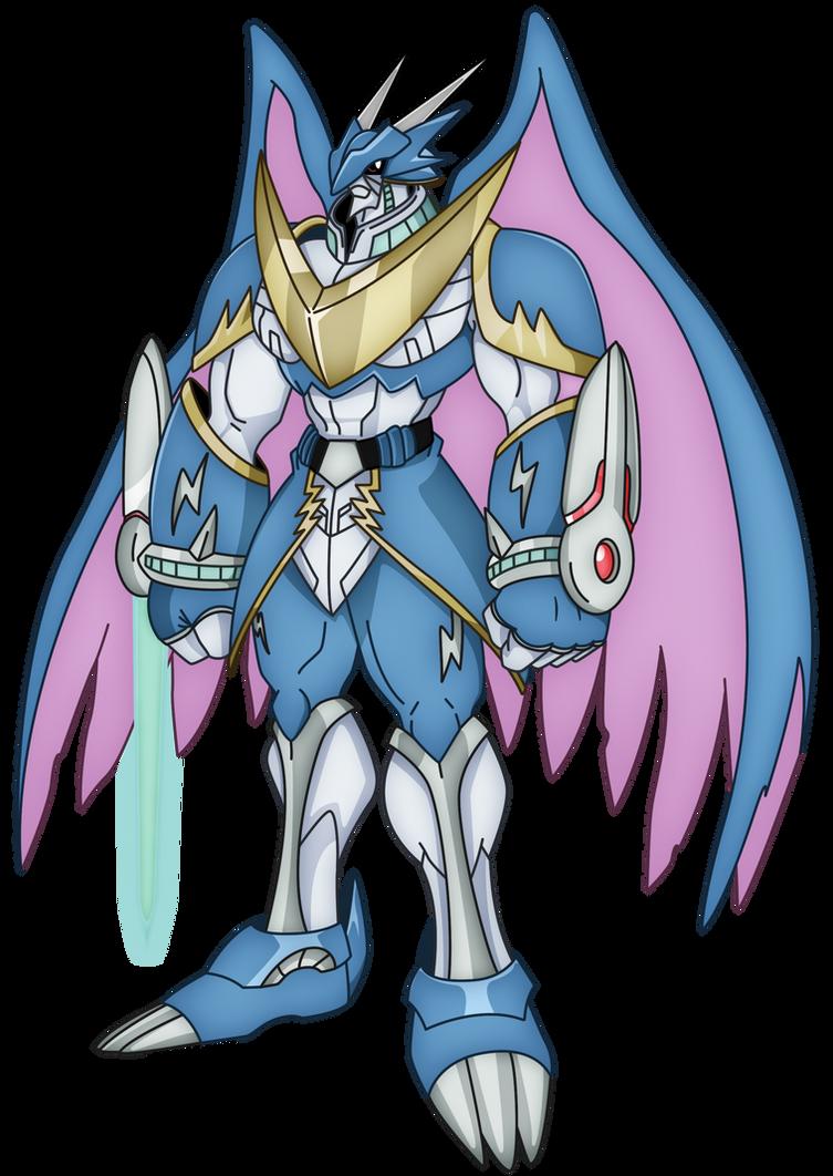 Ulforceveedramon (Full Body) by xXSteefyLoveXx