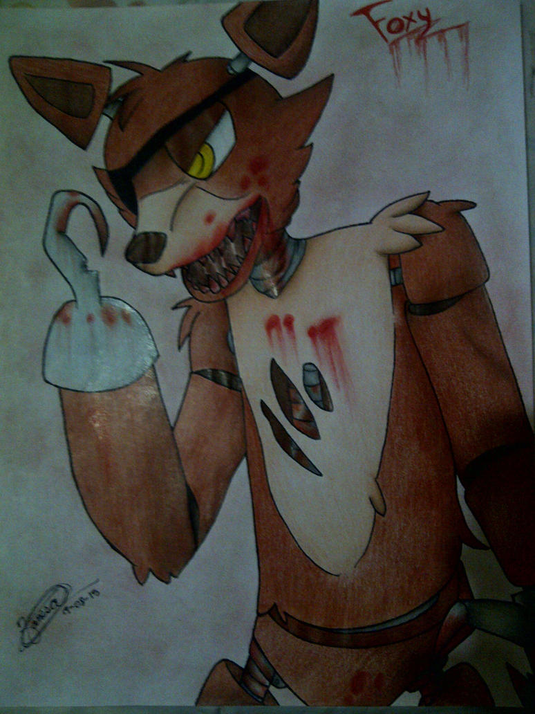 Foxy the Pirate Fox (Five Nights At Freddy's) by xXSteefyLoveXx
