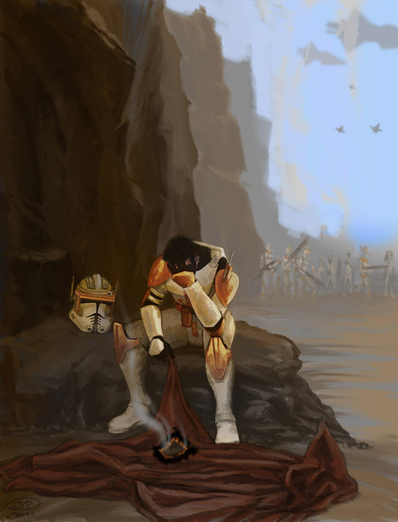 The doubts of Commander Cody by JeanSebastien-P