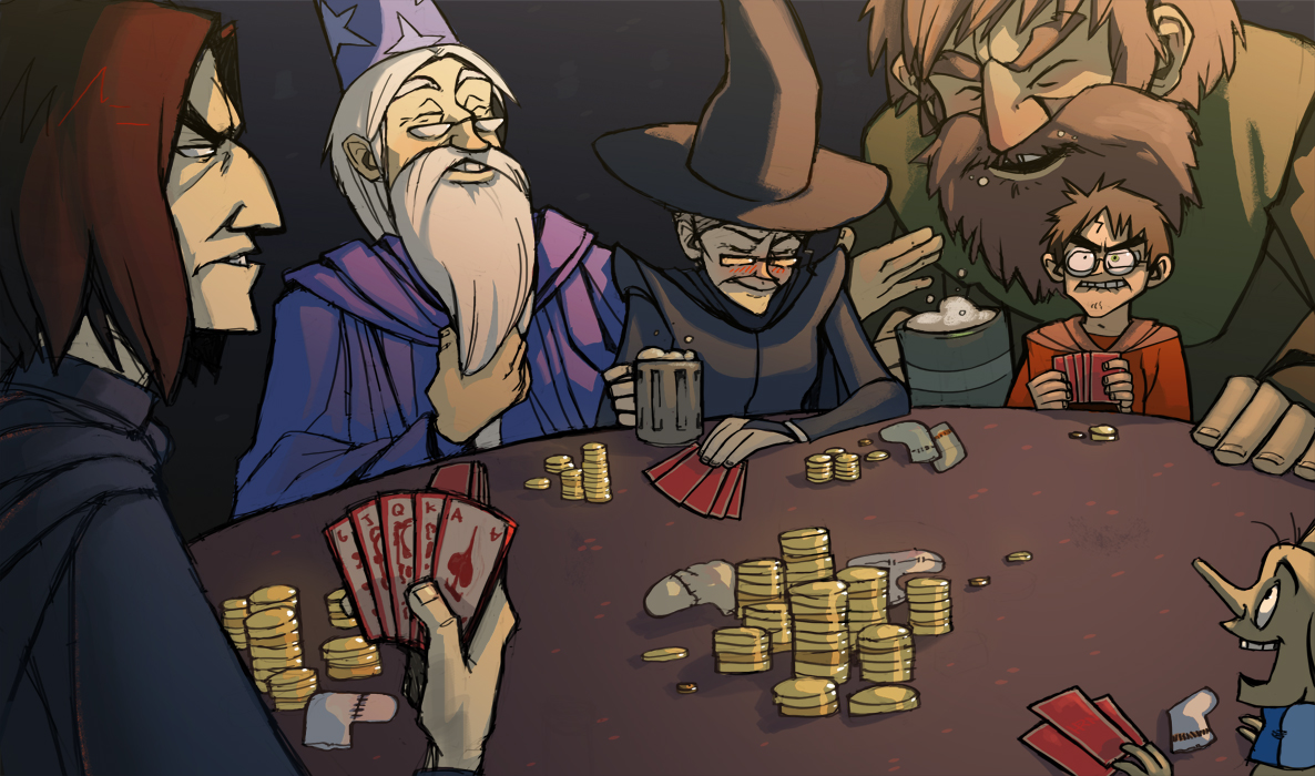 HP: Wizard Poker by ragweed