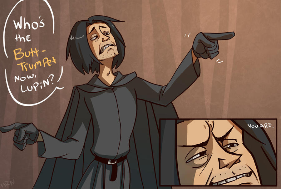 AVPM Snape by ragweed