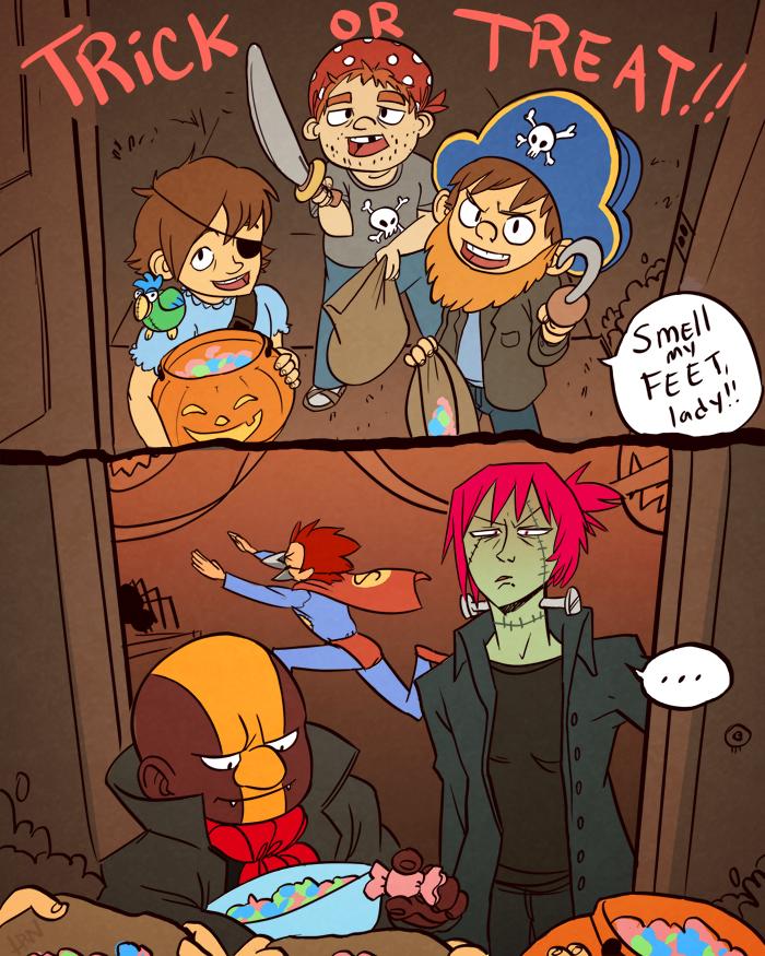 BnB Halloween by ragweed