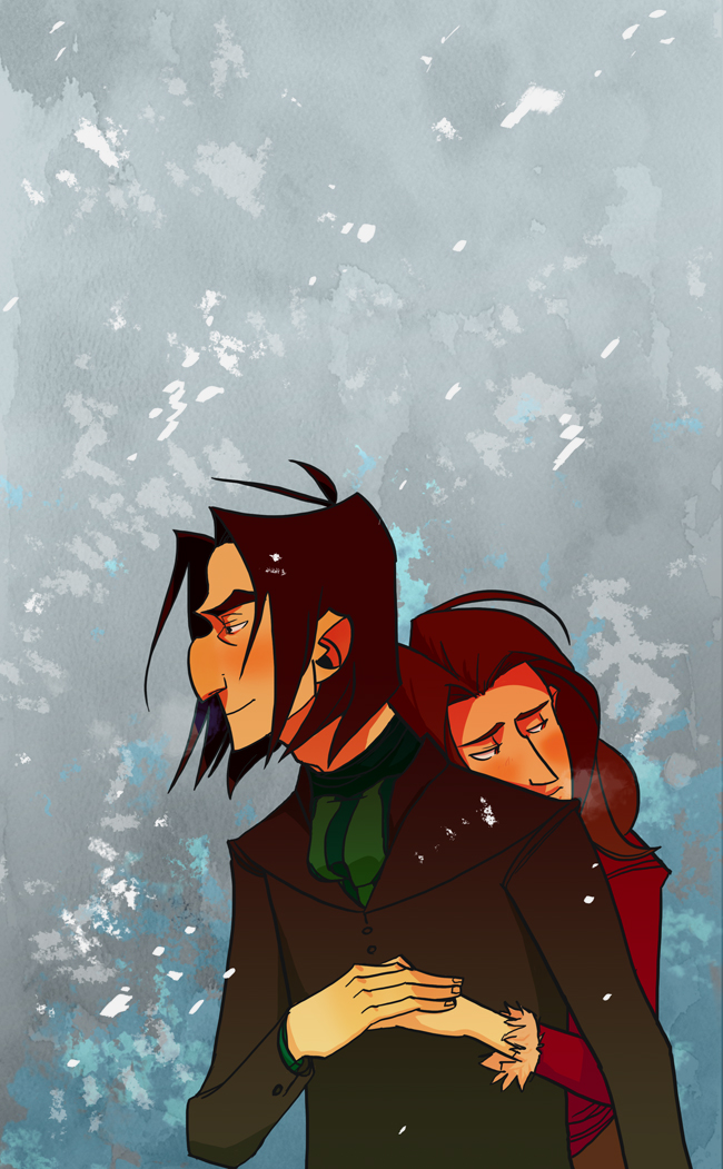 Snape x Evelyn by ragweed