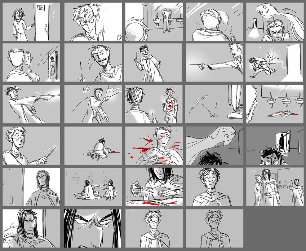 Sectumsempra Storyboard by ragweed