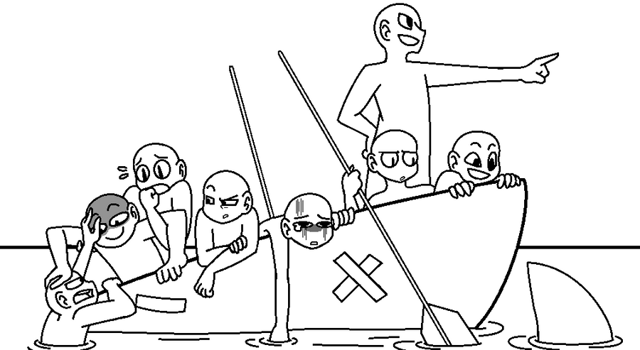 Draw the squad base boat by queencookiemonster on for 6 team draw template