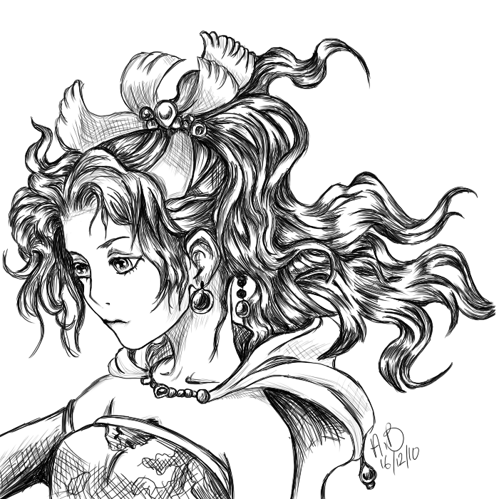 Terra Dissidia Digital Sketch by CloudN