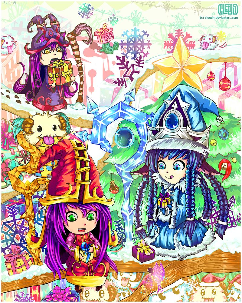 A Lulu Christmas by CloudN