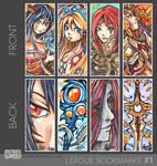 League of Bookmarks Set #1