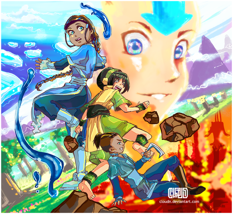Avatar crew by CloudN