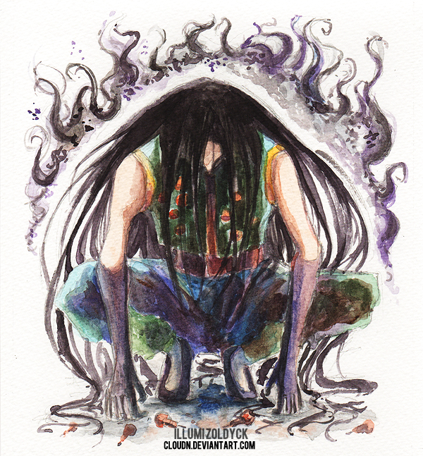 Illumi's Killing Aura by CloudN