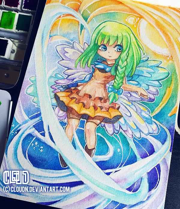 Cyenna - Art Trade by CloudN