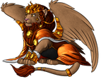 Ponyfinder : Purrsian Sun King